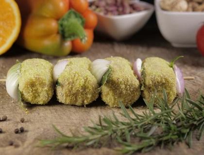 Spiedini al pistacchio