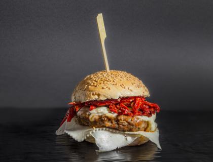 sicilian burger